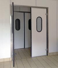 Mvr doors rigid swinging doors - Porte va e vieni per interni ...